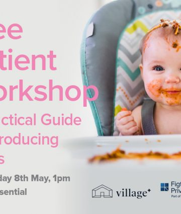 Free Workshop – A Practical Guide to Introducing Solids